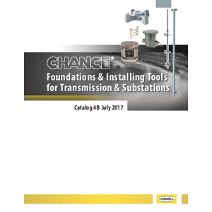 Utility Helical Foundations & Installing Tools for Transmission & Substations (4B)