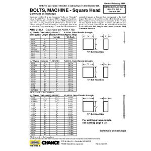 Machine Bolts & DA Bolts (5-53Supp24-28)