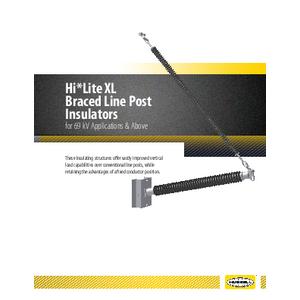Hi*Lite XL Braced Line Post Insulators Catalog (CA08051E)