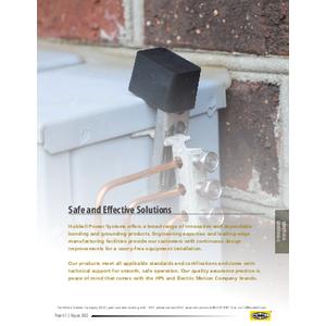 Bonding and Grounding - Communication - CA12005E