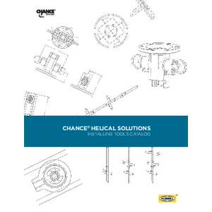 CHANCE Helical Solutions - Installing Tools Catalog (CA04124E)