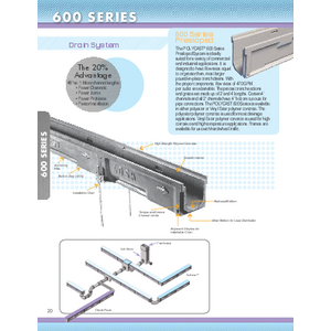 Trench Drains - 600 Series (PC-1)