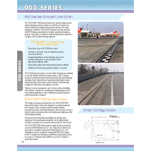 Trench Drains - 900 Series (PC-1)