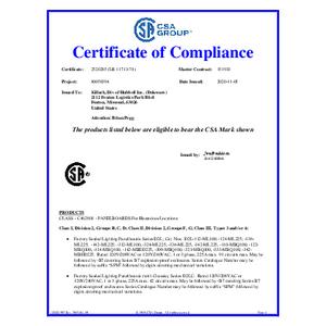 D2L & D2P Series Panelboards CSA Certification