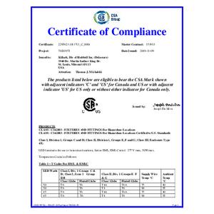 EML/EMLC Series CSA Certification