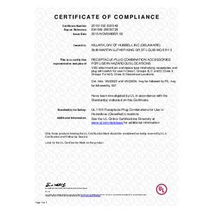 30A VSQ Series UL Certification