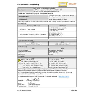 XP Star-Line Series Declaration of Conformity
