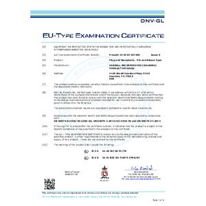 XP Star-Line Series ATEX Certificate