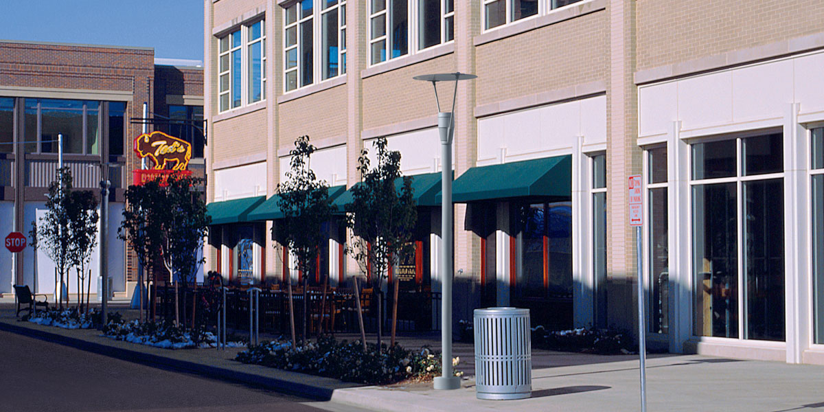 Indirect Decorative Amp Post Top Commercial Outdoor
