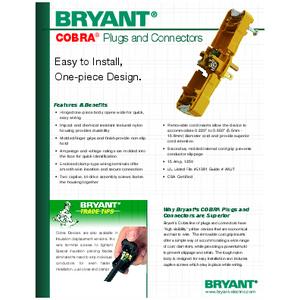 General Literature - COBRA® Plugs and Connectors