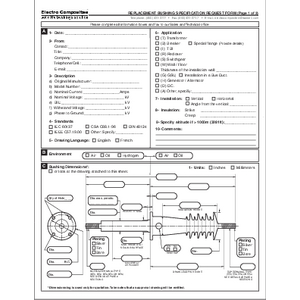 Bushing Request Form - Electro Composites - English