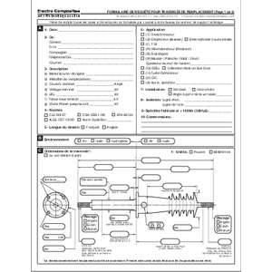 Bushing Request Form - Electro Composites - French