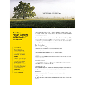 HPS Sustainability Initiative