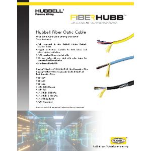 FIBERHUBB Branded Fiber Optic Cable