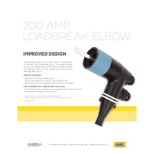 200 Amp Loadbreak Elbow (SF03018E)