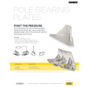 Pole Bearing Plates (SF06026E)