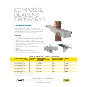 Composite Deadend Crossarms (SF06084E)