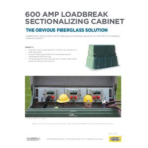 600 AMP Loadbreak Sectionalizing Cabinet (SF07031E)