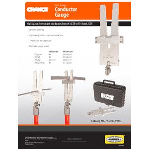 Conductor Gauge (SF09018E)