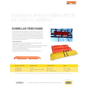 Barrera para Interruptor de Lineas Aereas (SF09050S)