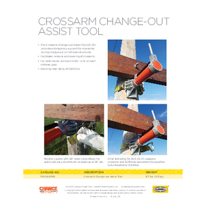 Crossarm Change-out Assist Too (SF09111E)