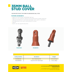 35MM Ball Stud Cover (SF09189E)