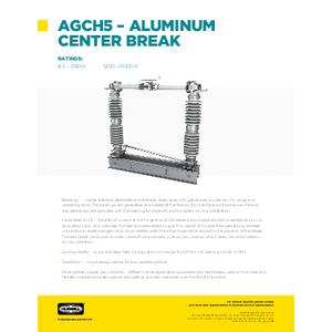AGCH5 - ALUMINUM CENTER BREAK (SF10234E)