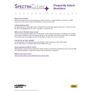 SpectraClean FAQ