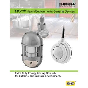 MAXX™ Harsh Environments Sensing Devices