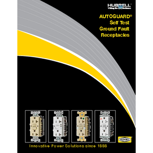 AUTOGUARD® Self Test Ground Fault Receptacles