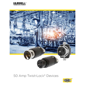 50 Amp Twist-Lock® Devices