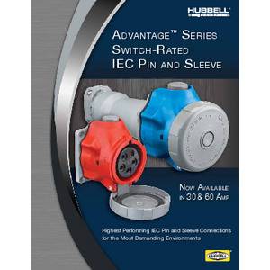 General Literature - 30 & 60 Amp Advantage Series Switch-Rated Pin & Sleeve