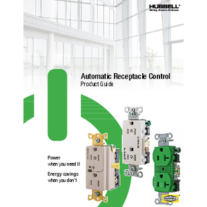 General Literature - Automatic Receptacle Control Product Guide