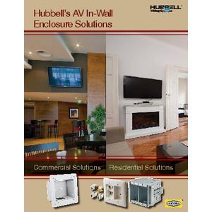AV In-Wall Enclosure Solutions
