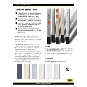 Aluminum Service Poles