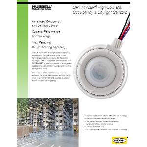 OPTIMYZER® Occupancy & Daylight Sensors