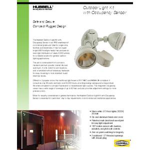 Outdoor Light Kit with Occupancy Sensor