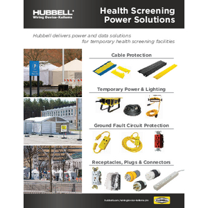 Health Screening Power Solutions