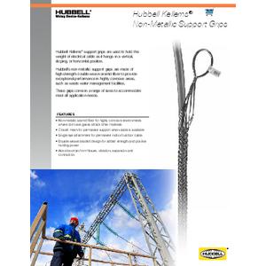 Hubbell Kellems® Non-Metallic Support Grips