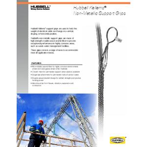 Kellems® Non-Metallic Support Grips