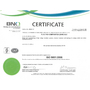 Electro Composites ISO 9001-2008 Certificate – English