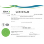 Electro Composites ISO 9001-2008 Certificate – French