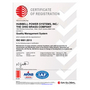 ISO 9001:2015 - Hubbell Power Systems Inc. (English)
