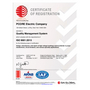 PCORE ISO 9001-2015 Certificate
