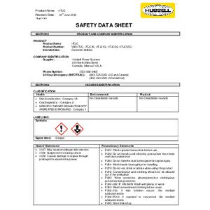 SDS - HTJC Corrosion Inhibitor (VS8HTJC, HTJC16, HTJC1G, HTJC5G, HTJC55G)