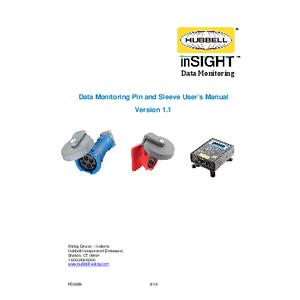 Data Monitoring Pin and Sleeve User's Manual