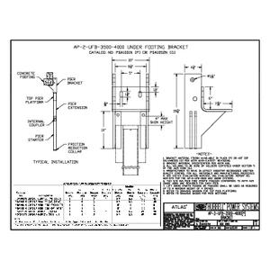 Standard Two Piece Bracket - 3500 N Series