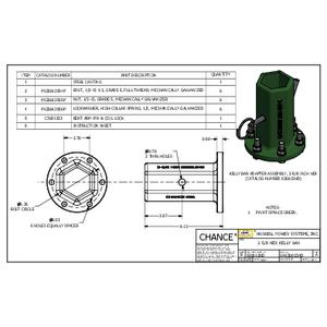 Kelly Bar Socket (SA630012HD)