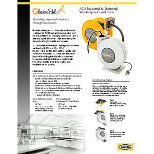ACA Industrial & Industrial Weatherproof Cord Reels