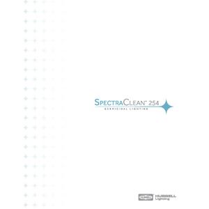SpectraClean™ 254 Germicidal Lighting Brochure